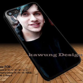 Cute Boy Cute Hair iPhone 6s 6 6s+ 5c 5s Cases Samsung Galaxy s5 s6 Edge+ NOTE 5 4 3 #music #5sos DOP2135