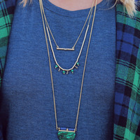 Emerald Isle Necklace