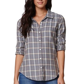Roxy Round Up 3 Button Shirt - Womens Shirts