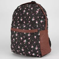 Floral Polka Dot Backpack