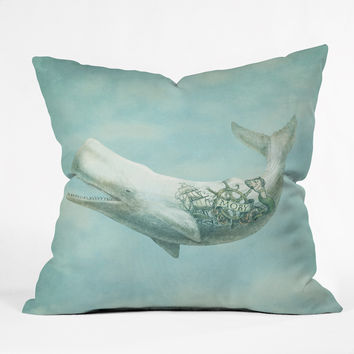 Eric Fan Far And Wide Outdoor Throw Pillow