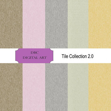 The Tile 2.0 Collection Digital Paper, Scrapbooking, Scrapbooking paper Invitation, Background, Brown, Gold, Lavender, Lime, Gray