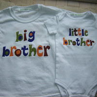 Custom Big Brother/Little Brother Shirt Combo