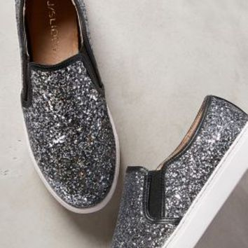 J Slides Glitzern Sneakers by Anthropologie