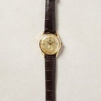 Himalaya 1954 Gold Watch by LIP Gold One Size Jewelry