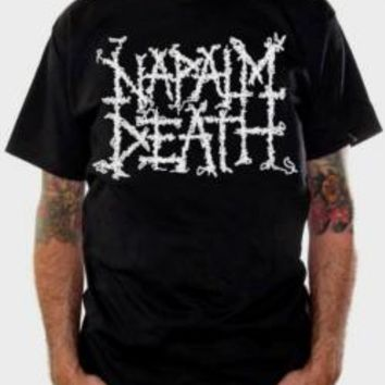 Napalm Death T-Shirt - Logo