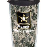 U.S. Army - Camo Wrap with Lid | 16oz Tumbler | Tervis®