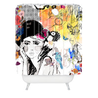Holly Sharpe Dreamer Shower Curtain