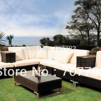 Fancy Outdoor furniture Rattan sofa set