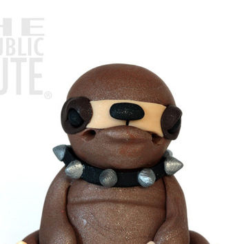 Punk Rock Sloth Figurine