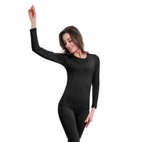 Winter Ski Jacket and Pants Quick Dry POLARTEC Thermal Underwear Women Long Johns For Skiing/Riding/Climbing/Cycling