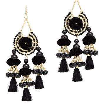 Area Stars Reena Tassel Earrings