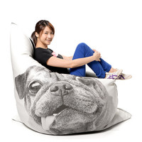 Pug Bean Bag Cover (MAKE TO ORDER)