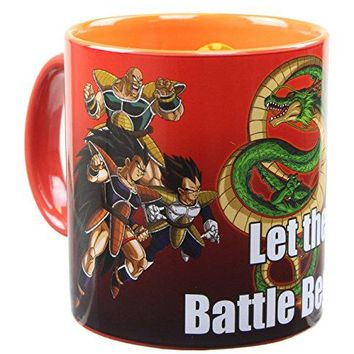 Dragon Ball Z 20oz Ceramic Coffee Mug with Inside Artwork