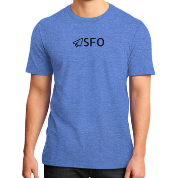 SFO District T-Shirt (on man)