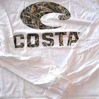 Costa Del Mar Realtree Max-4 Camo Long Sleeve T-Shirt