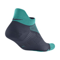 Nike Elite Hyper-Lite No-Show Running Socks - Turbo Green