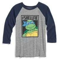 Boy's Mighty Fine '#shellfie - TMNT' Graphic T-Shirt