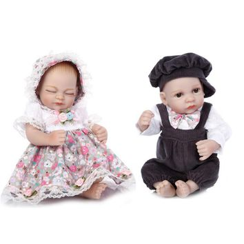 Lifelike Simulated Doll Reborn Doll Twin Baby