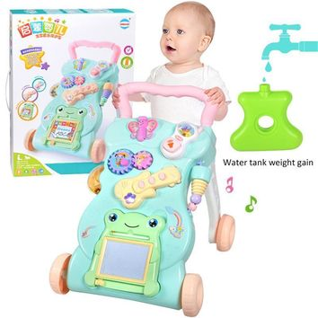 Multi functional Baby Stroller Walker With Music