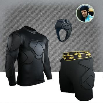 Men's soccer training equipment new design EVA thick sponge Goalkeeper equipment adults men's protective Goalie sets