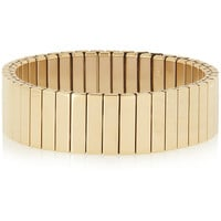 Marc by Marc Jacobs - Watch Bandz elasticated gold-tone bracelet