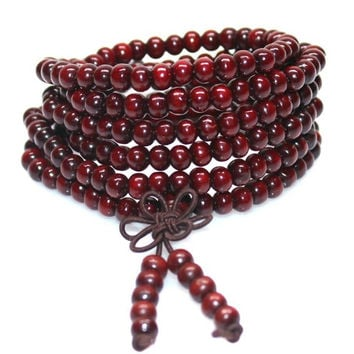 Sandalwood Buddhist Meditation Prayer Beads