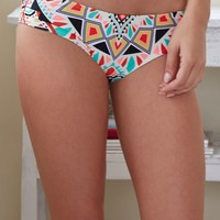 Billabong Tiles And Tides Bikini Bottom - Womens Swimwear - Multi