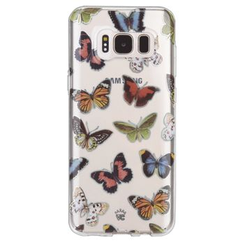 Vintage Butterfly Samsung Galaxy Clear Case