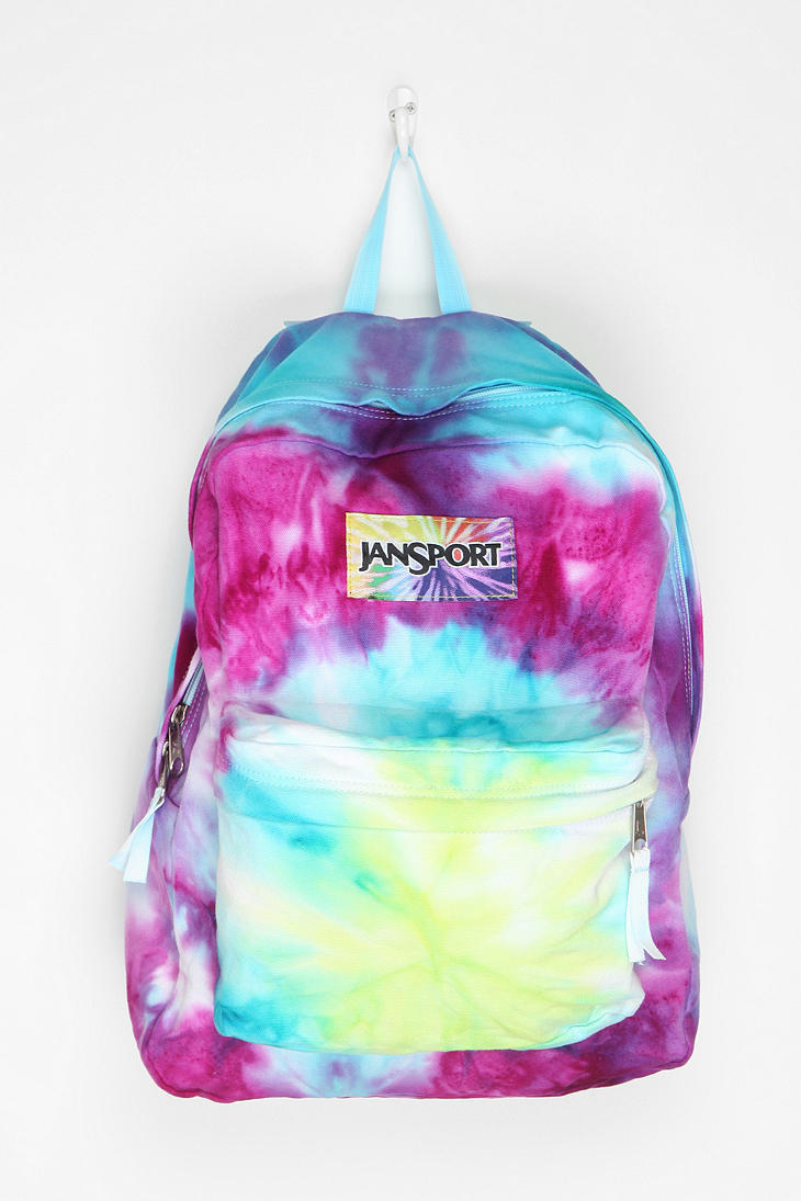 Jansport DIY Tie-Dye Backpack From Urban Outfitters