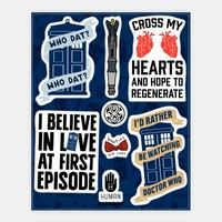 Doctor Who Fandom Stickers