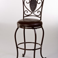 Hillsdale Scarton Swivel Bar Stool