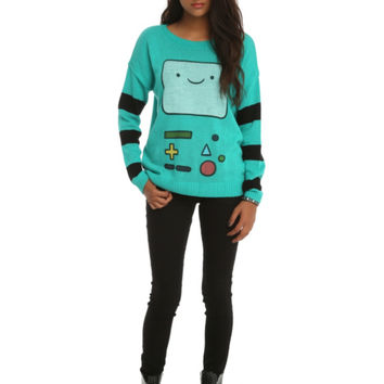 Adventure Time BMO Girls Sweater