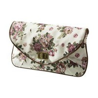 Item: Mossimo® Floral Large Cabbage Print Clutch
