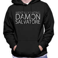 Limited Edition Mentally Dating Damon Salvatore Hoodie