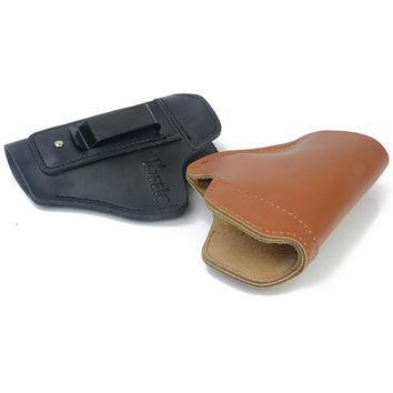 Concealed Leather IWB Holster Carry Gun Holster for Taurus 24/7 Taurus Milennium Pro Inside The Pants concealment holsters