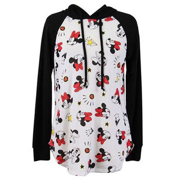 Disney Minnie Mouse Junior Graphic Hoodie