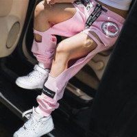 Cut Out Harajuku Style Joggers