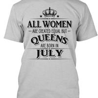 All Women Are Created Equal Queens JULY