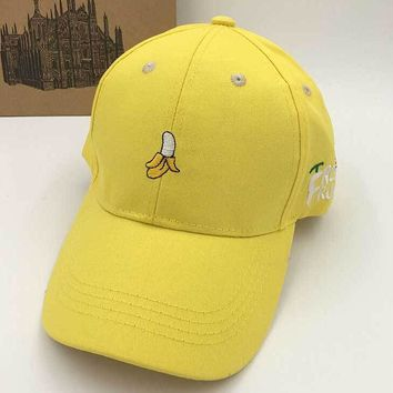 Womens  Banana Baseball Cap