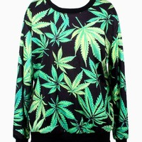 CALI GIRL HEMP CREW NECK