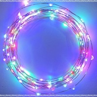 The Original Starry String Lights™ by Brightech - MultiColor LEDs on a Flexible Copper Wire - 20ft LED String Light with 120 Individually Mounted LED's - Set the Mood You Want Anywhere! - Perfect For Creating Instant Appeal in Any Setting - Parties,
