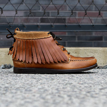 Sebago Tomahawk Tan | 7 Shoes | Ronnie Fieg x Sebago