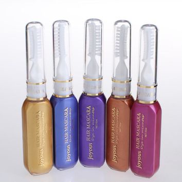 Multicolor Hair Color Hair Dye Color Easy Temporary Non-toxic DIY Hair Mascara Color Hair Cream Color Crayon J2 V2