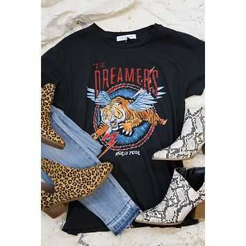 The Dreamers World Tour Tee, Vintage Black | DayDreamer