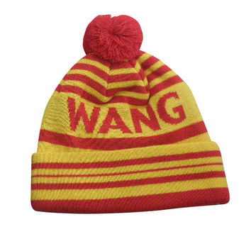 STRIPED HOCKEY YELLOW BEANIE – Odd Future