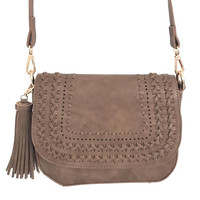 Go Your Own Way Handbag In Taupe