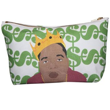 Biggie Smalls Makeup Bag – Pop Icon Zipper Pouch