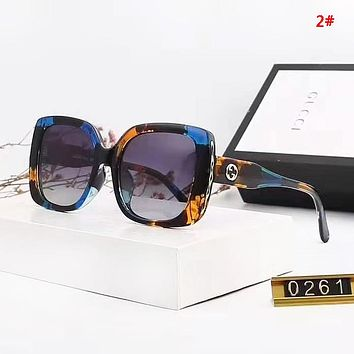 GUCCI Fashion New Polarized Sun Protection Travel Glasses Eyeglasses Women 2#