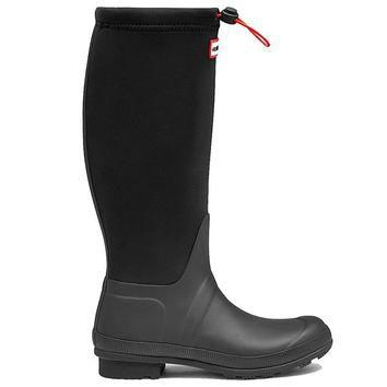 Hunter Tour Neoprene- Black Tall Boot
